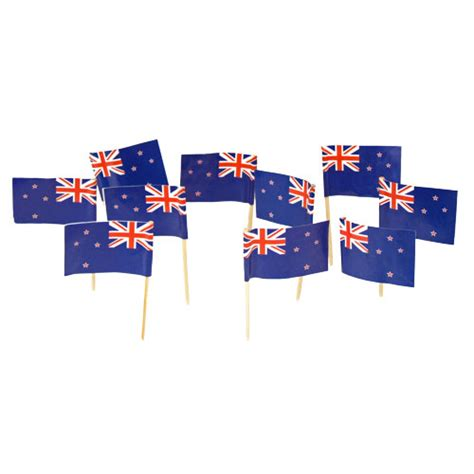 zealand flag toothpicks kiwi theme party