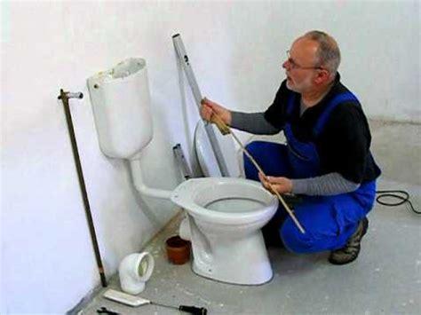 stand wc flachspüler stand wc und sp 252 lkasten montage teil 1