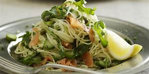 Smoked salmon arugula pasta recipes - Food fish tech