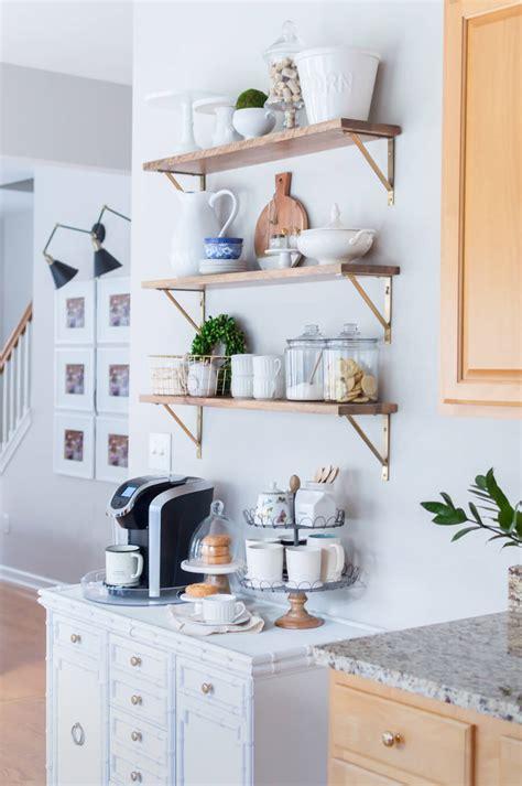 styling  styling open shelves   kitchen