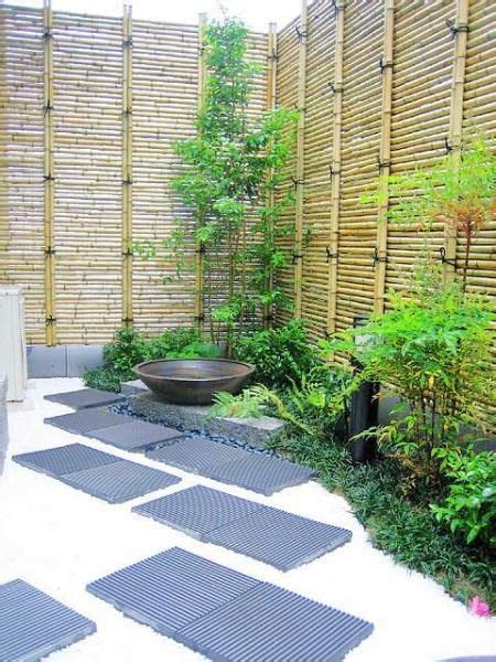 japanese garden small space small space japanese garden bamboo fence love the unusual placement of the bamboo fencing