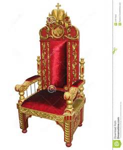 royal king and golden throne chair isolated stock images image 21917844