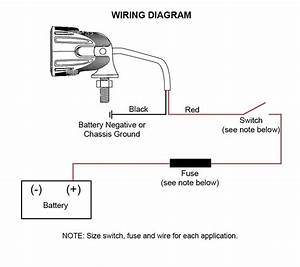 12v Led Off Road Light Wiring Diagram