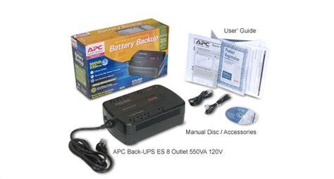 back ups es 550 user manual