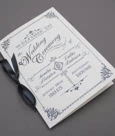 wedding ceremony program paper best 25 wedding program templates ideas on