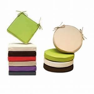 Assise chaise ronde Ibiza imperméable vert Coussin Coussin, pouf & plaid Décoration