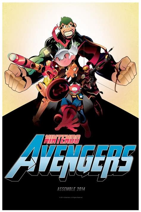 Art Piece Shows That The Nintendo Avengers Are Ready To