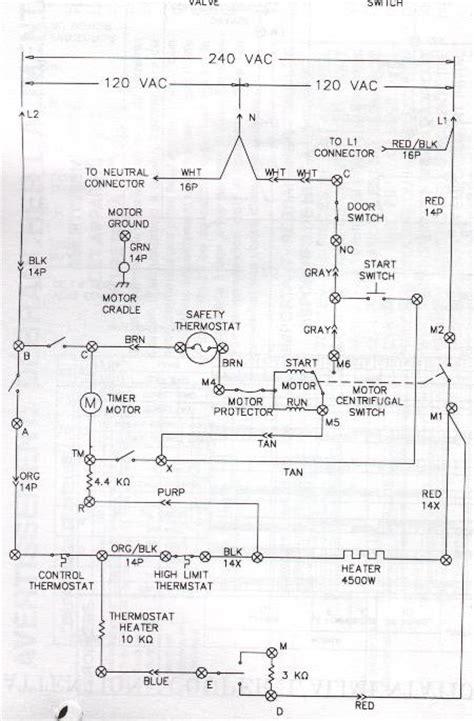frigidaire white westinghouse newer style dryer wiring