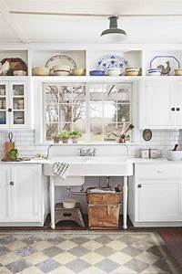 20 vintage kitchen decorating ideas design inspiration With kitchen cabinets lowes with new york themed wall art