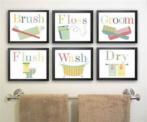bathroom wall art decorating tips inoutinterior With artwork for bathroom walls