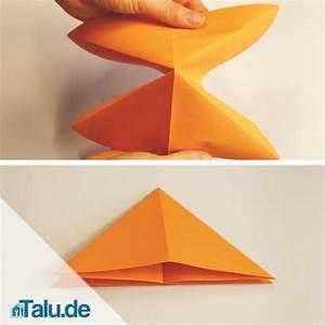 Schmetterling Basteln Papier : origami schmetterling anleitung raum und m beldesign ~ Lizthompson.info Haus und Dekorationen