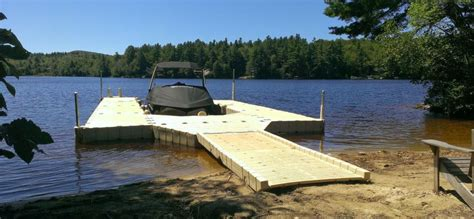 shaped floating dock fwm docks ez dock northeast