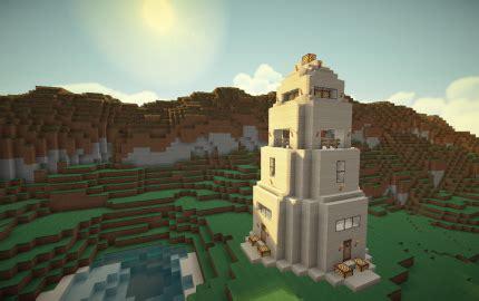 sandstone watchtower creation