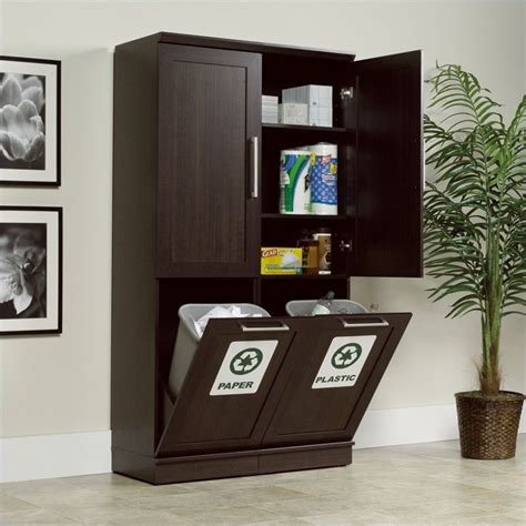 sauder homeplus storage cabinet dakota oak finish sauder homeplus dakota oak storage cabinet ebay
