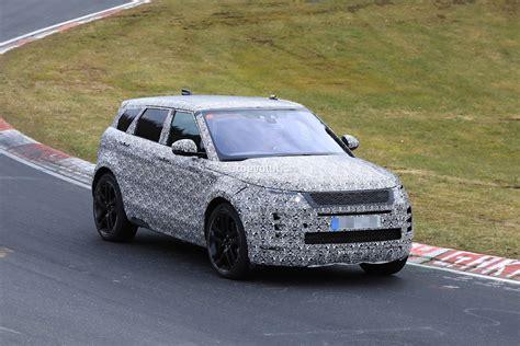 2020 Range Rover Evoque by 2020 Range Rover Evoque Spied On Nurburgring Prototype