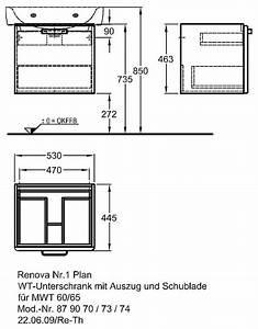 Keramag Renova Nr 1 Plan Waschtisch 60x48cm Unterschrank : keramag renova nr 1 plan waschtischunterschrank 53 x 44 5 879070000 megabad ~ Pilothousefishingboats.com Haus und Dekorationen