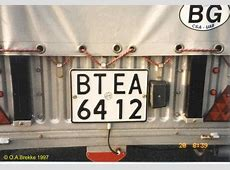 Olav's Bulgarian license plates Page 3 Number plates of