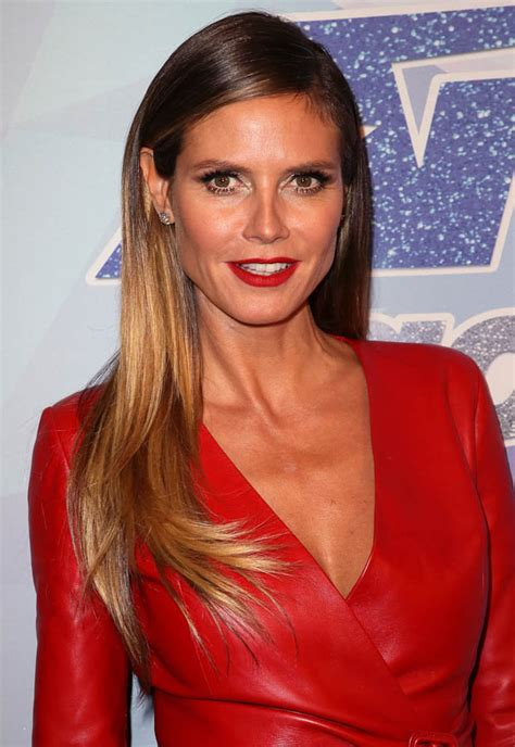 Heidi Klum Lidl Range Eclipsed Ravishing Pvc Dress