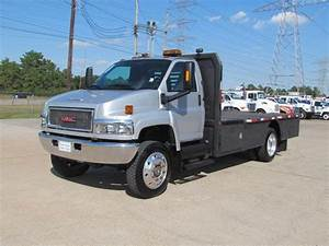 2008 Used Gmc C5500 Flatbed 4x4 At Texas Truck Center Serving Houston  Tx  Iid 15656071