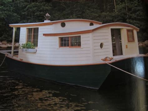 Houseboat Wood by Relaxshacks An Shantyboat Houseboat In