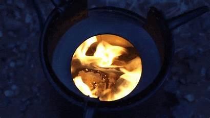 Stove Fire Inferno Instafire Biomass Wood Combo