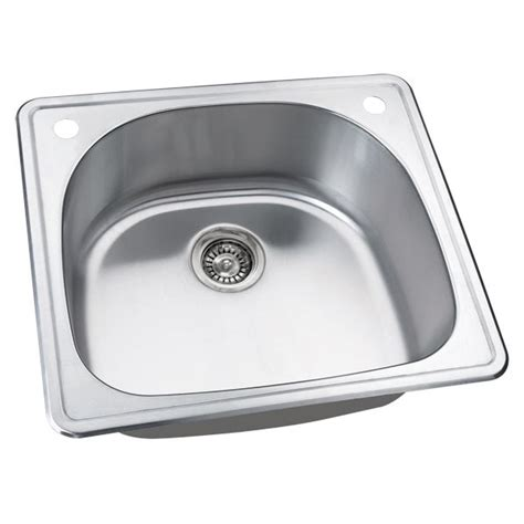 25 Inch Kitchen Sink by 25 Inch Stainless Steel Drop In Single Bowl Kitchen Bar