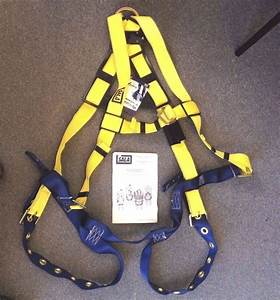 Lot 10 Pcs New Dbi Body Safety Harness Delta1102526 Work Fall Protection Sz M