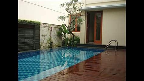 desain rumah minimalis  kolam renang youtube
