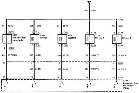 2002 Mustang Gt Wiring Diagram by I Need A Diagram Of The Bulkhead Wiring Harness 2002 Ford