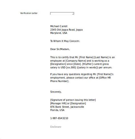 letter  employment templates