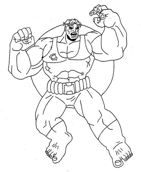 hulk 003 printable coloring pages