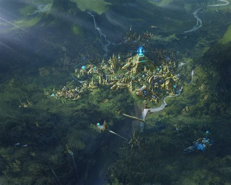 Starcraft 2 Wallpaper Protoss Artstation Fantasy Of Starcraft Yanchong Lim