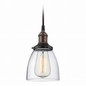 Mini-Pendant Light with Clear Glass 60/5504