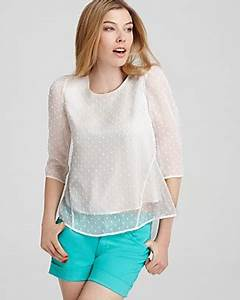 Dolce Vita Puff : dv dolce vita blouse sacha swiss dot wrap back bloomingdale 39 s ~ Frokenaadalensverden.com Haus und Dekorationen