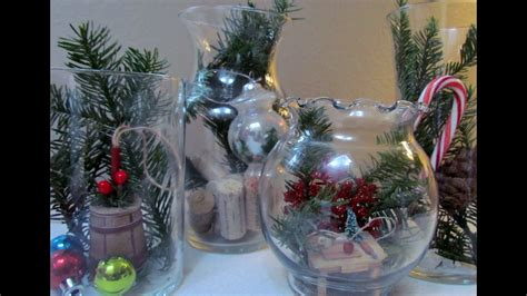 diy terrarium holiday glass jar vase christmas decoration