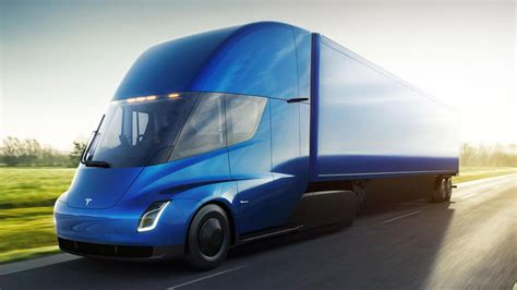 fedex      tesla semi electric trucks