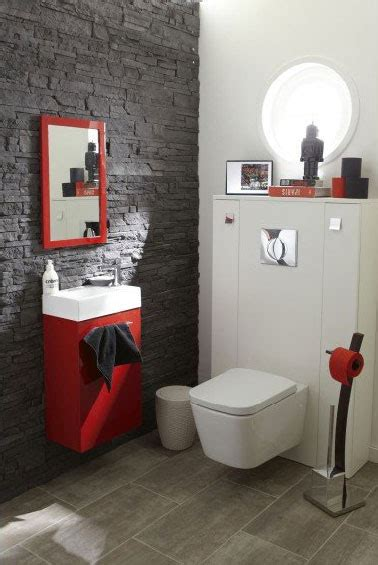idee deco wc carrelage le carrelage wc se met 224 la couleur pour faire la d 233 co tiny bathrooms salons and toilet