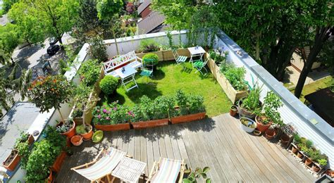 Types Of Plant To Decorate Roof Garden Theydesignnet