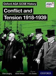 Narrtive Essay Conflict And Tension 1918 1939