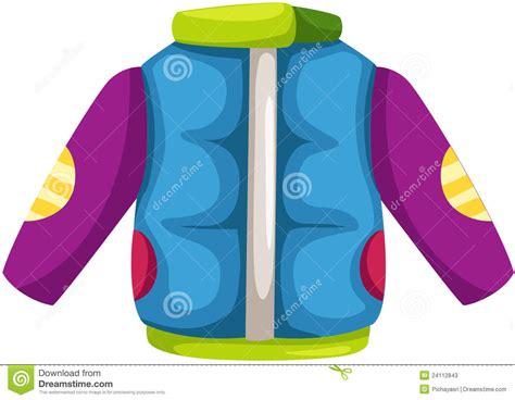 winter jacket stock vector illustration  outerwear