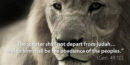 Image result for the scepter will not depart from judah
