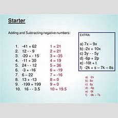 Multiplying And Dividing Negative Number Powerpoin By Lauramathswilson  Teaching Resources Tes