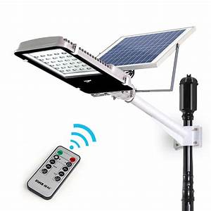 2016 new remote control 20w solar powered panel 30 leds With outdoor solar lights with remote panel