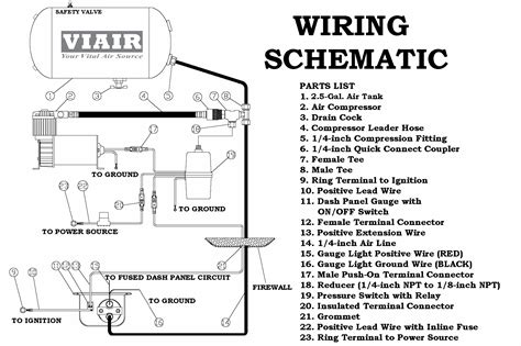 viair relay wiring diagram blogs and 12v air compressor