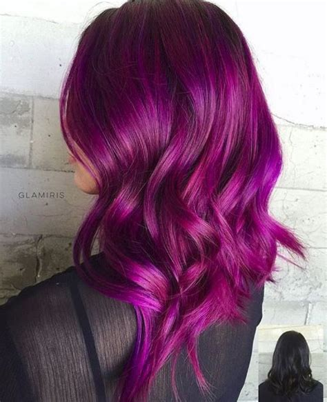 purple pink color best 25 pink purple hair ideas on colourful