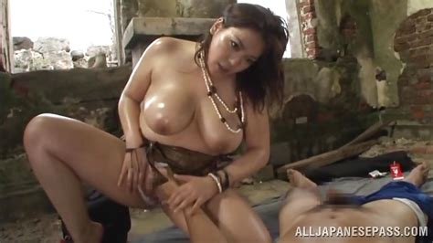 Mizuki Ann In Japanese With Huge Tits Plays Dirty Outdoor