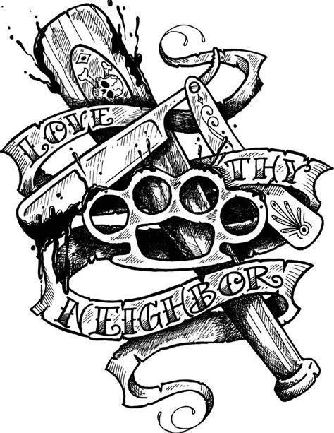 tattoos art tattoos neck tattoos new school tattoos design tattoos | Tattoo designs, Gangster
