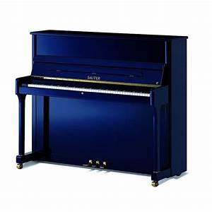 Sauter Ragazza 122 Upright Piano steel blue polished ...