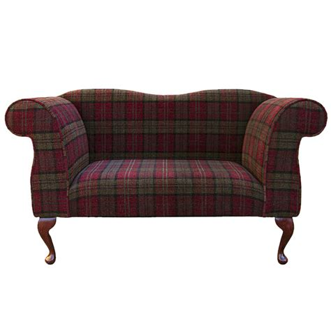 green fabric sofas for sale double ended chaise longue chair in a red green lana
