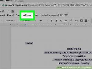 3 Easy Ways To Alphabetize In Google Docs  With Pictures